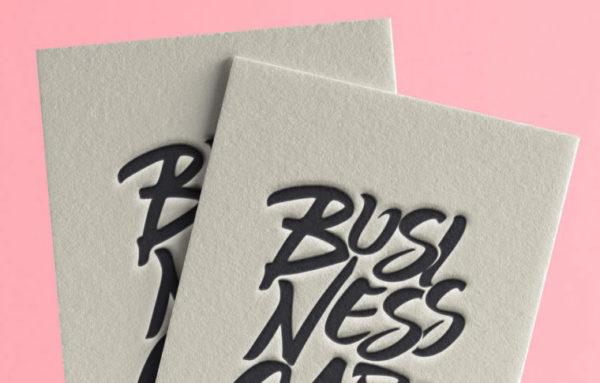 MASTROiNCHIOSTRO buisiness cards biglietti visita letterpress