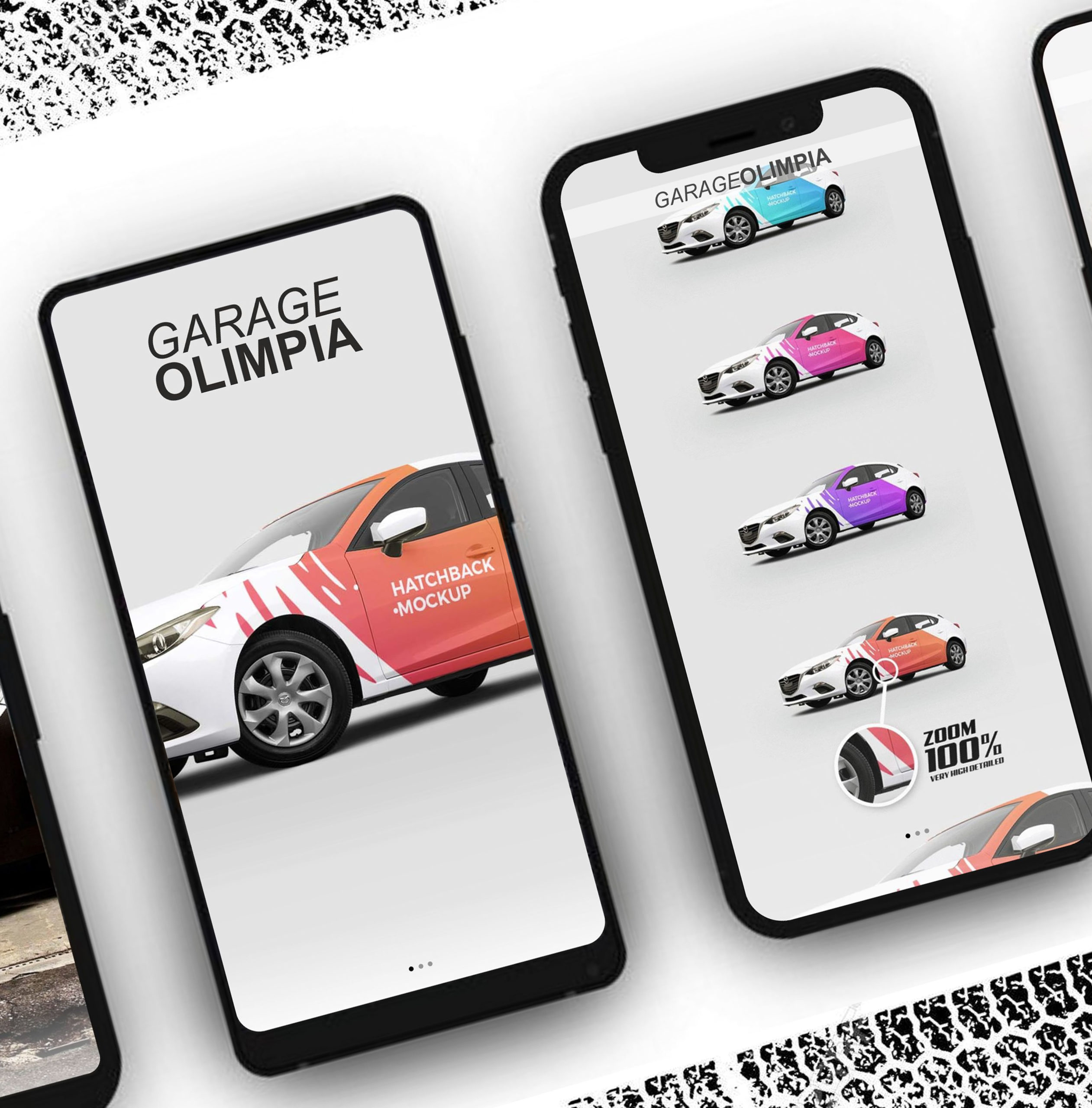 Web site for GARAGE OLIMPIA in ROME