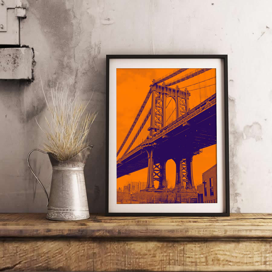 Poster print of NYC