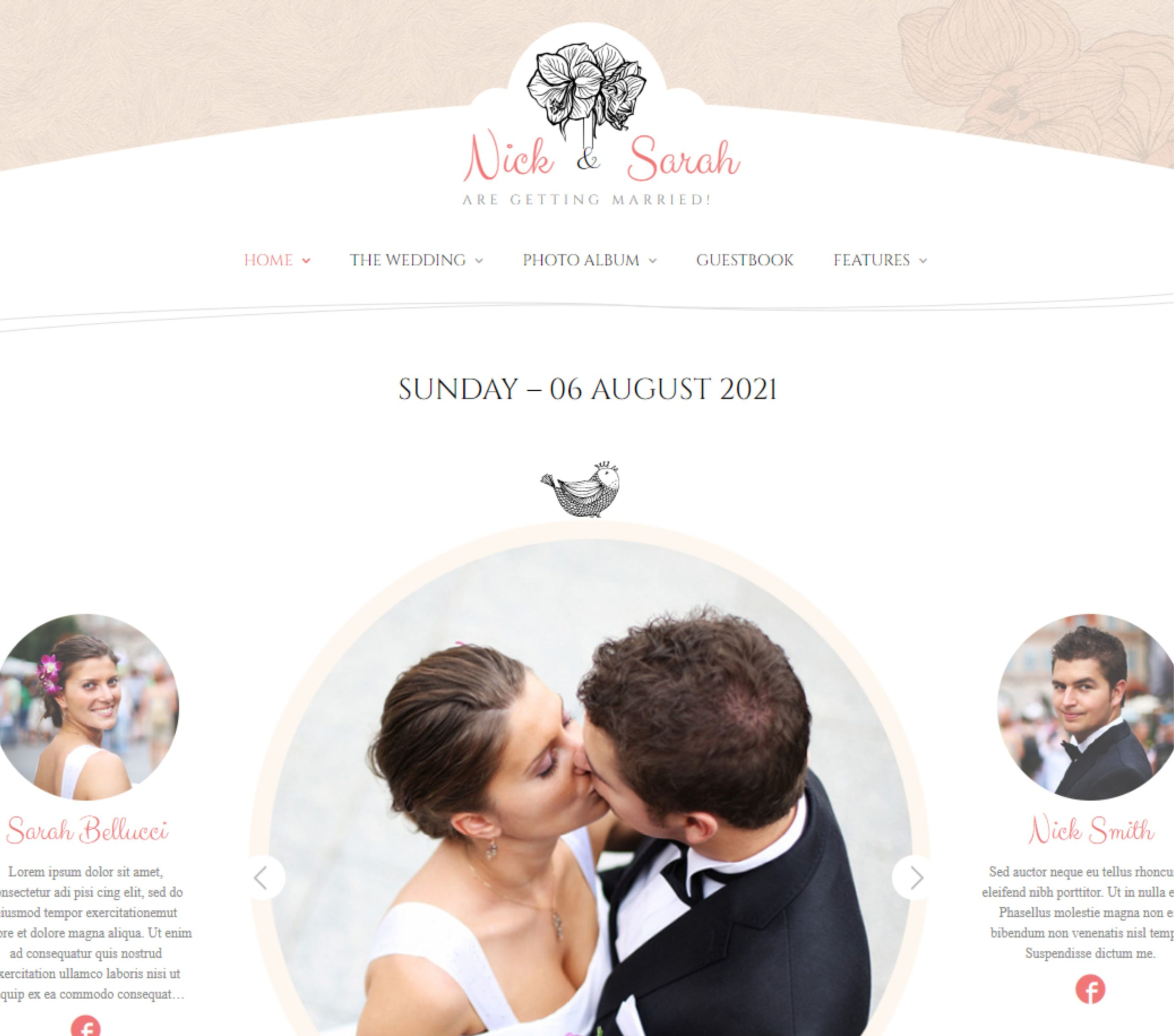 MASTROiNCHIOSTRO | Wedding Web Site
