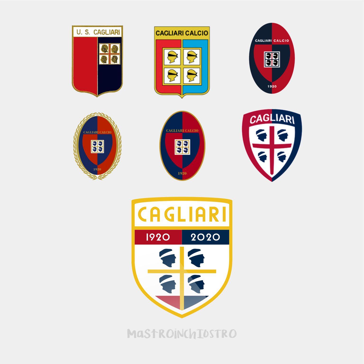 Cagliari Calcio Logo Rebrand | MASTROiNCHIOSTRO