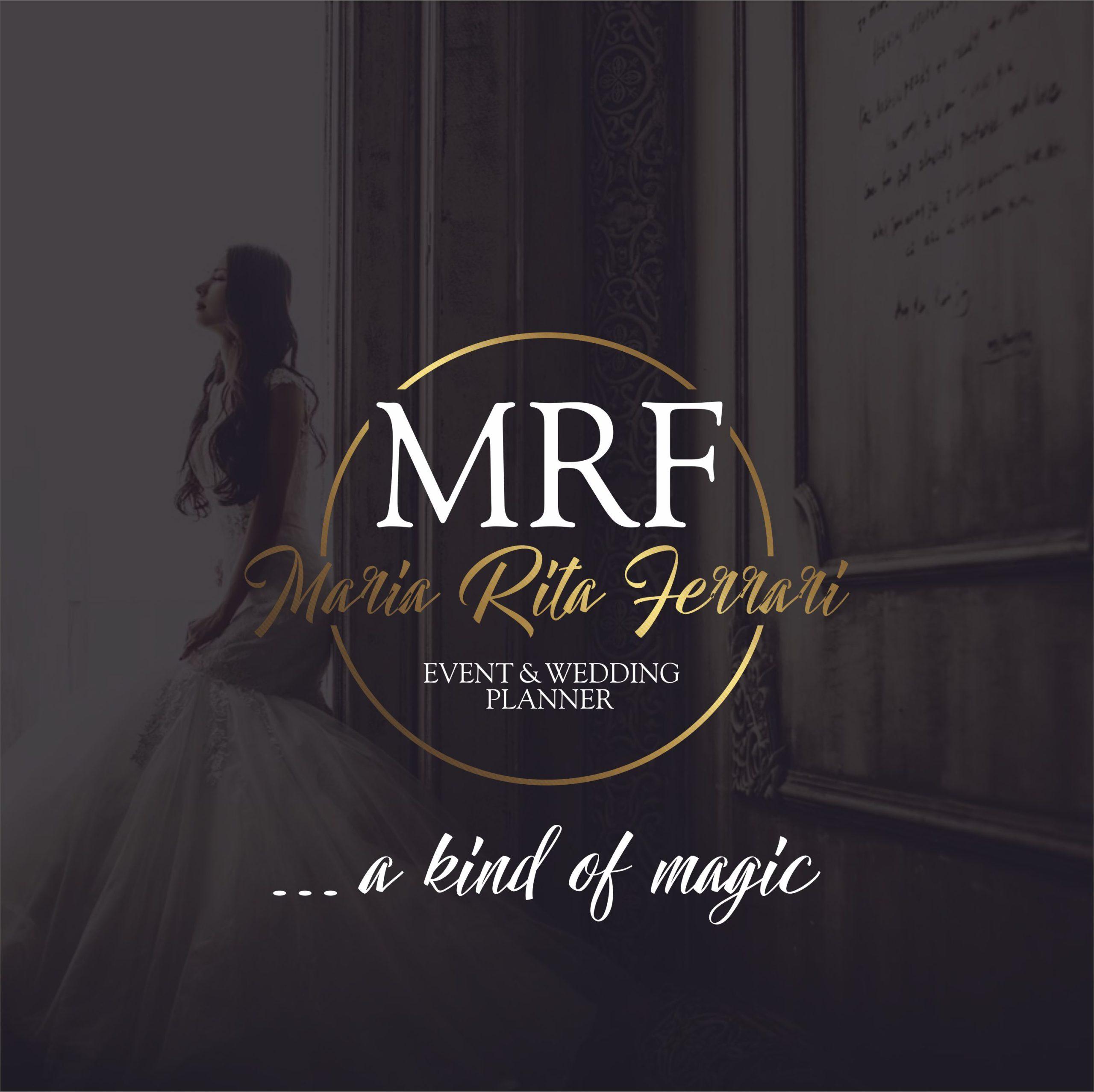 Logo per Maria Rita Ferrari - event & wedding planner | MASTROiNCHIOSTRO