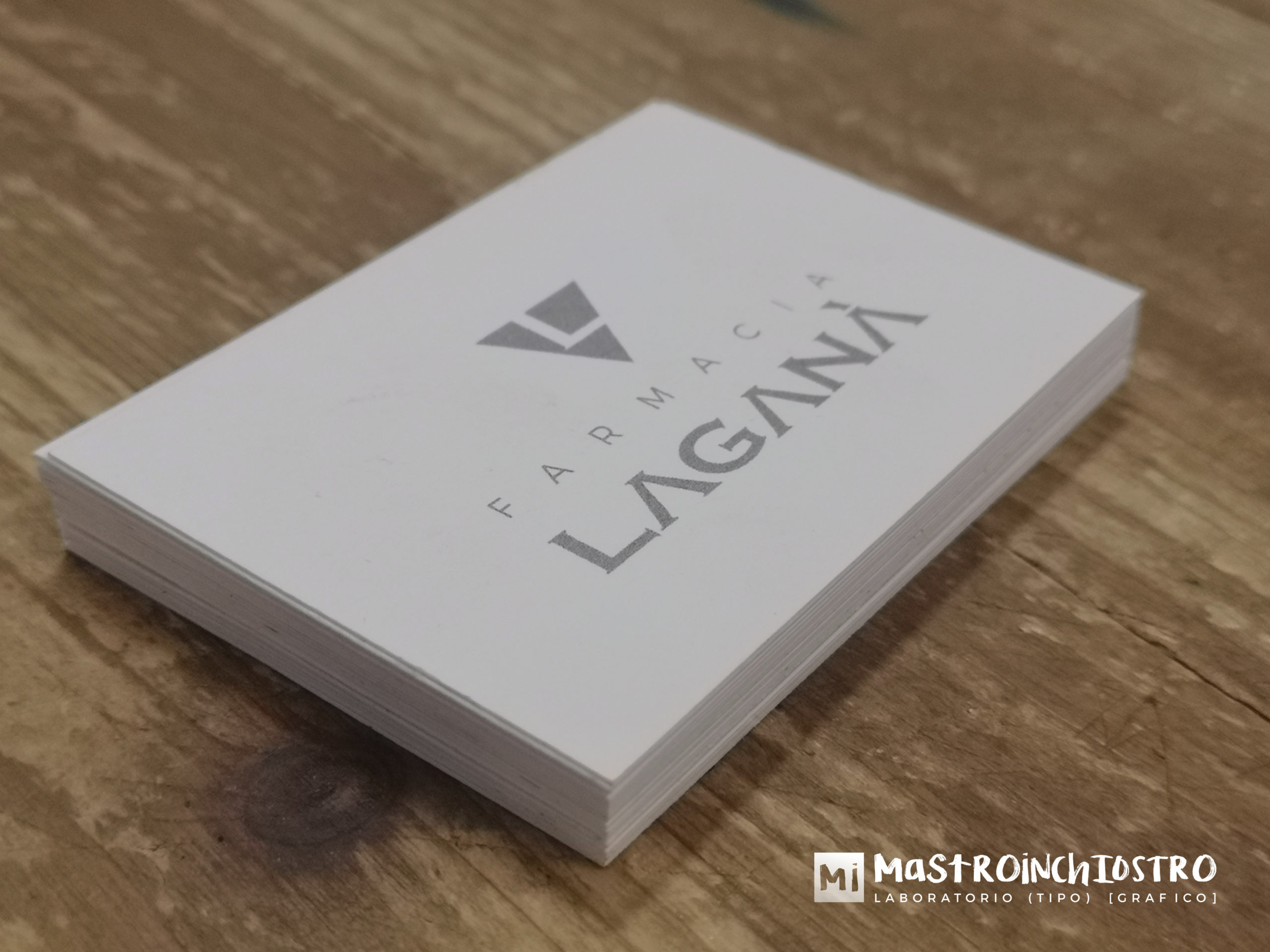 Logo rebranding & business cards Farmacia Laganà | MASTROiNCHIOSTRO
