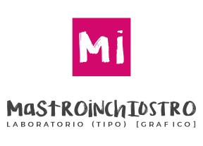 Logo MASTROiNCHIOSTRO | stampa - web design - logo branding