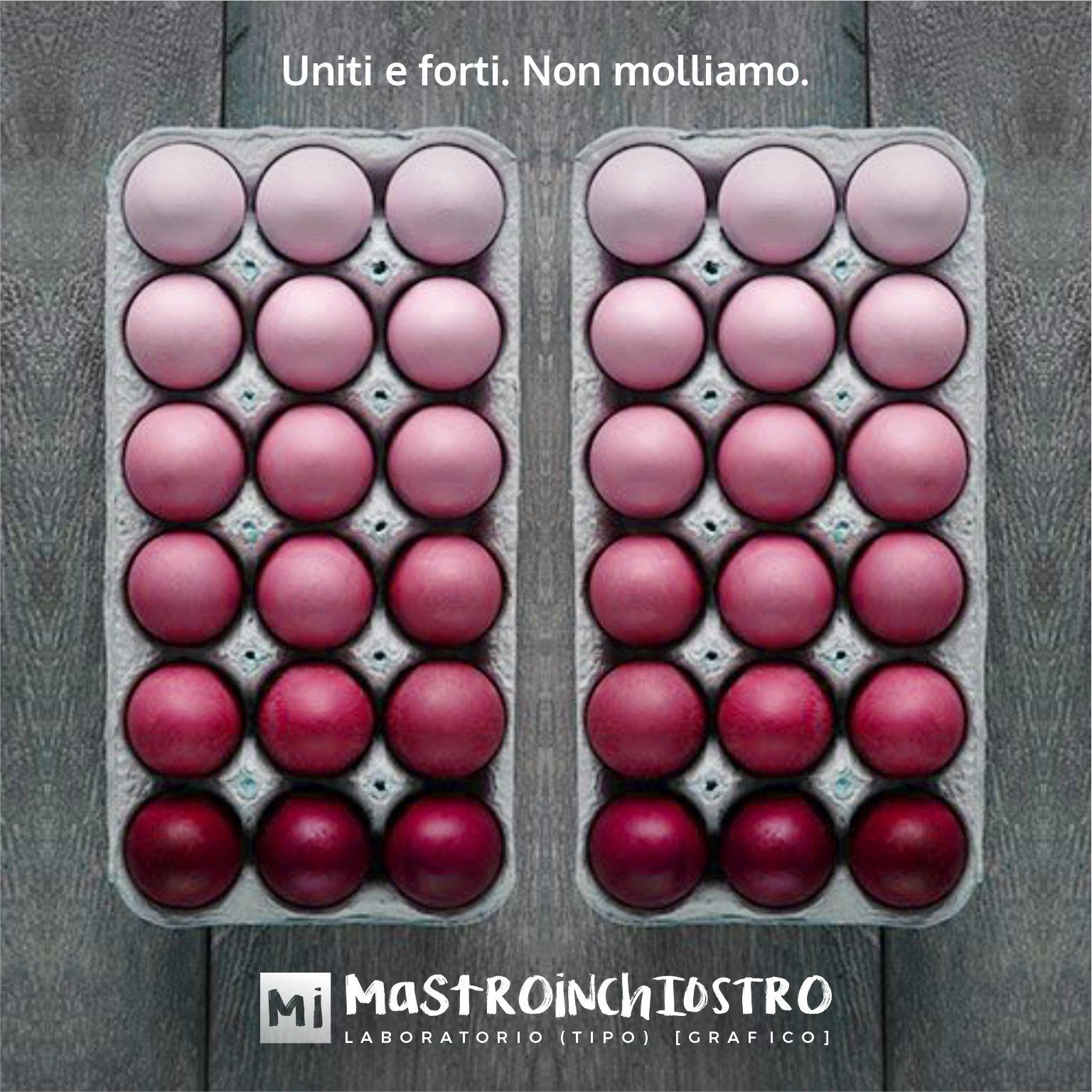 Easter eggs colored | MASTROiNCHIOSTRO