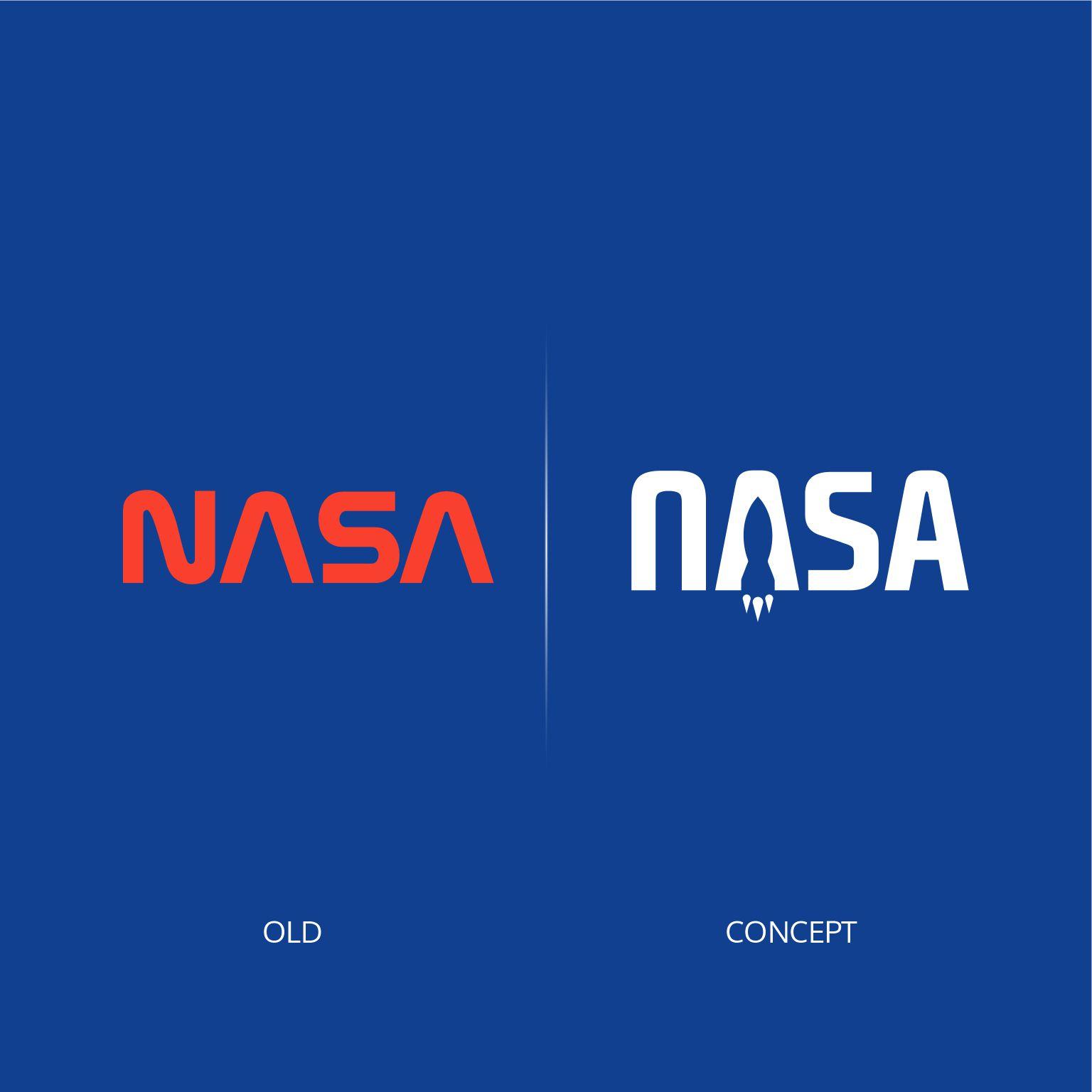 NASA logo restyling | MASTROiNCHIOSTRO